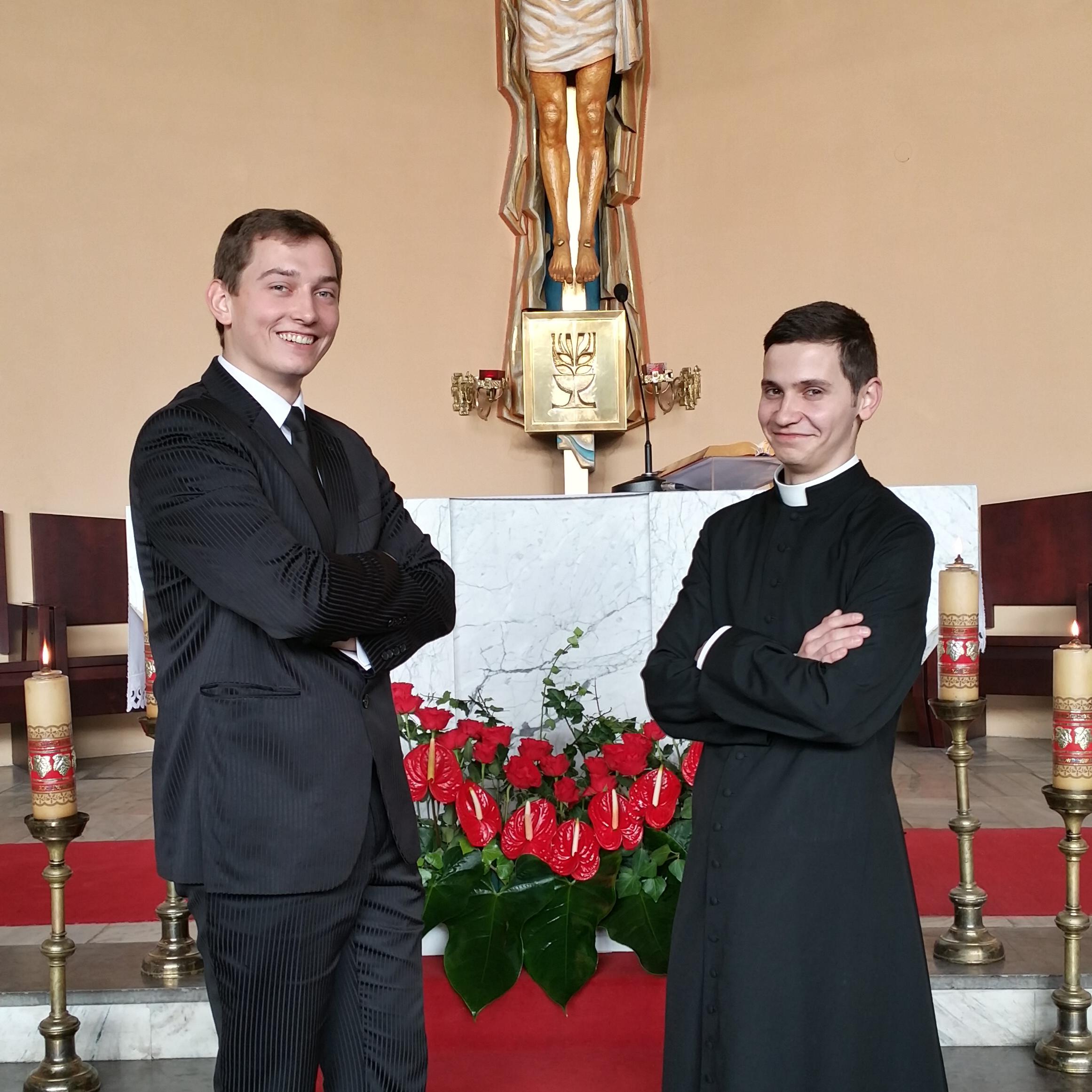 Filip Byczyński i Tomasz Łukaszewski